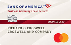 Bank Of America Business Advantage Cash Rewards Credit Card