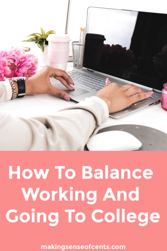 Advice For Balancing School And Work #balancingschoolandwork #timemanagementtips