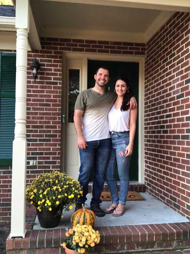 LaVallee and Johnson are happy they stuck it out in a competitive seller's market and landed this home.